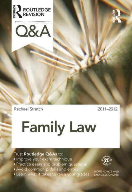 Q&A Family Law 2011-2012 EB9780203831311