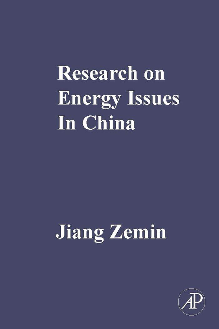 RESEARCH ON ENERGY ISSUES IN CHINA EB9780123786203