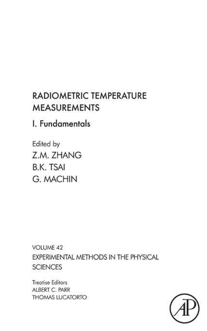 Radiometric Temperature Measurements: I. Fundamentals EB9780080920627