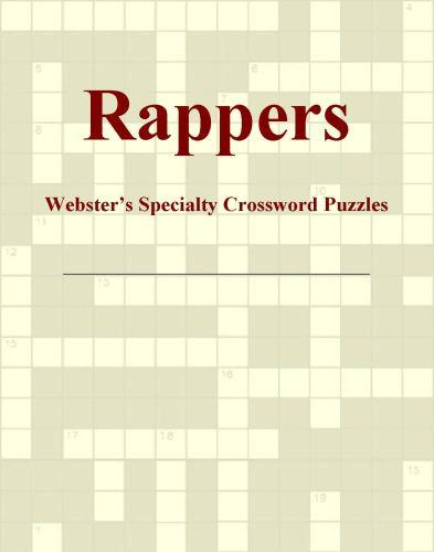 Rappers - Webster's Specialty Crossword Puzzles EB9780546430790