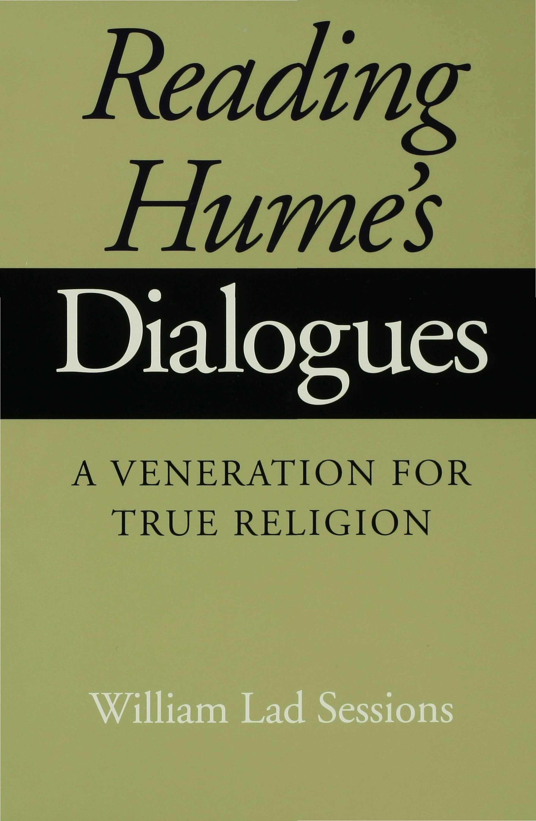 Reading Hume's Dialogues EB9780253109361