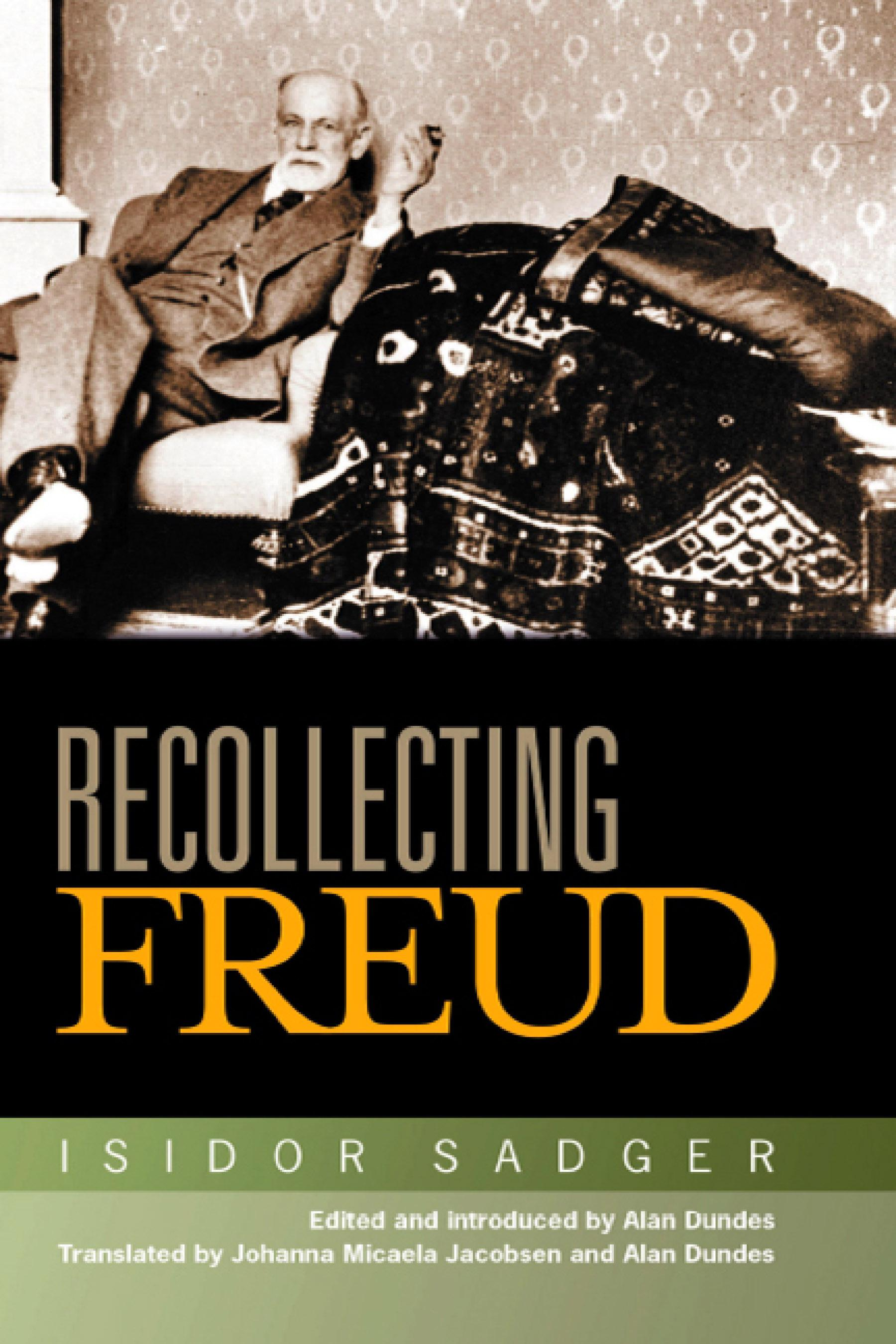 Recollecting Freud EB9780299211035