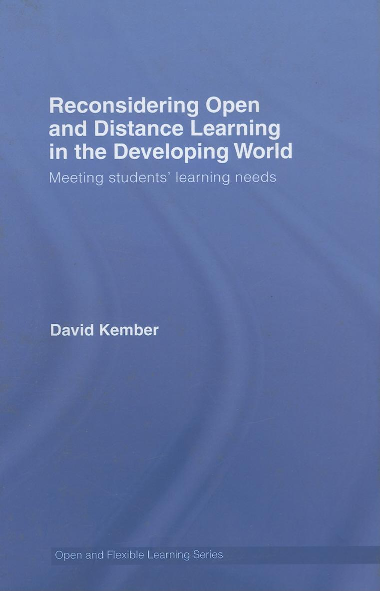 Reconsidering Open and Flexible Learning for the Developing World EB9780203966549