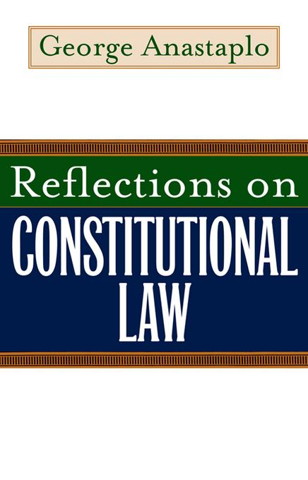 Reflections on Constitutional Law EB9780813171340