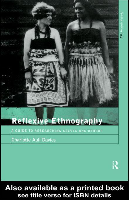 Reflexive Ethnography EB9780203222706