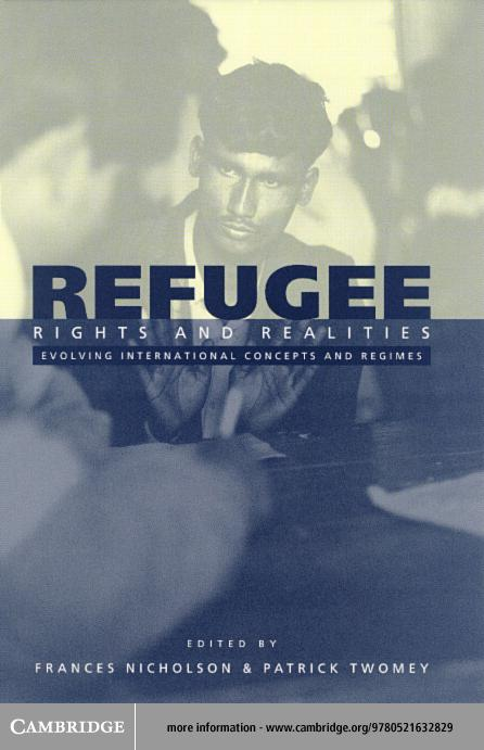 Refugee Rights and Realities EB9780511059841
