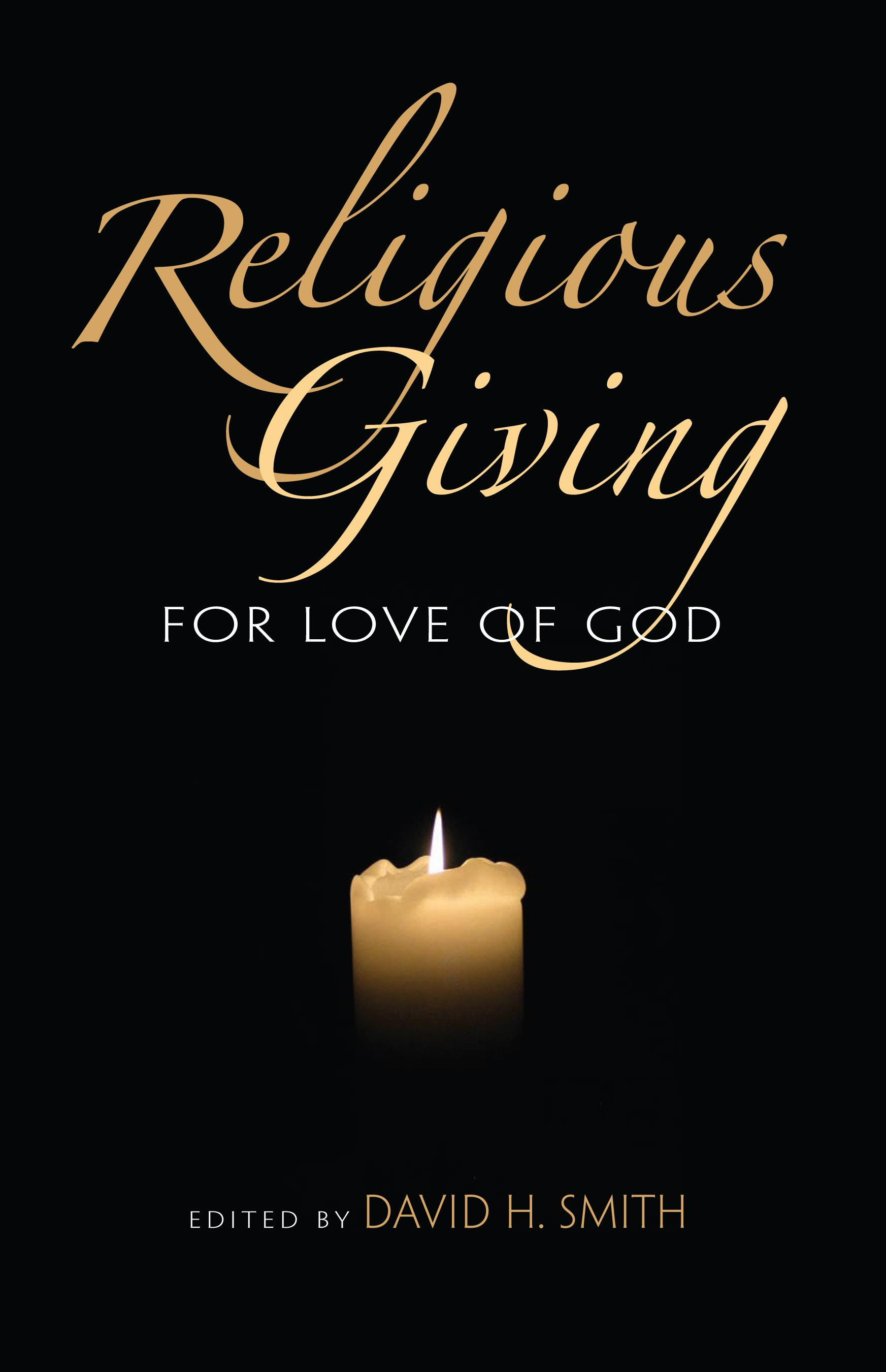 Religious Giving: For the Love of God