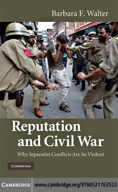 Reputation and Civil War EB9780511636509