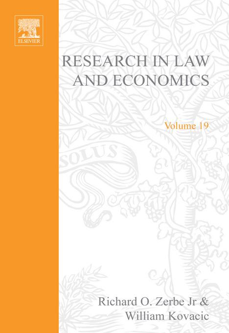 Research in Law and Economics EB9780080522791