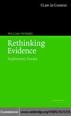 Rethinking Evidence EB9780511190193