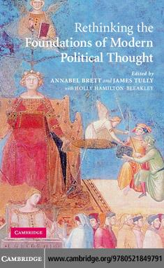 Rethinking the Foundations of Modern Political Thought EB9780511258053