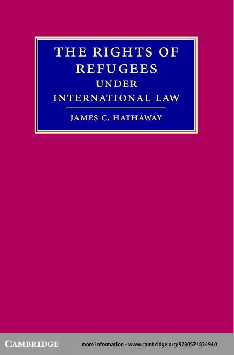 Rights Refugees International Law EB9780511131202