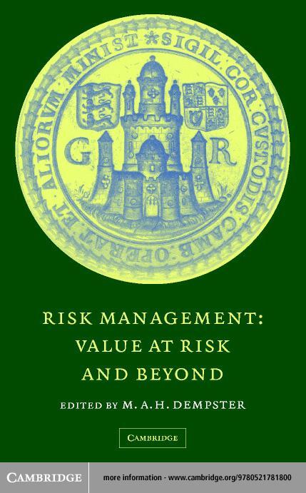 Risk Management EB9780511060656