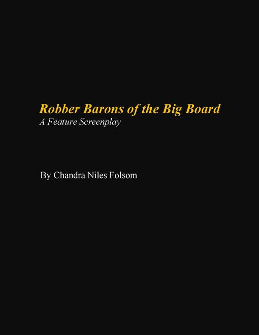Robber Barons of the Big Board EB9780984259939