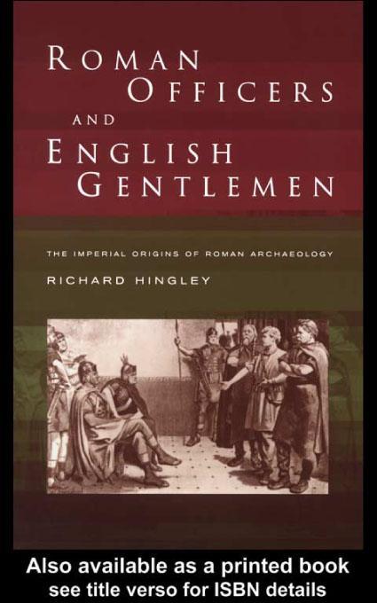 Roman Officers and English Gentlemen EB9780203136508