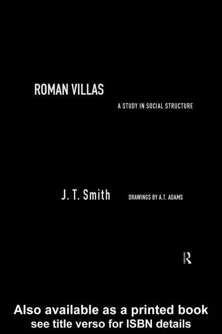 Roman Villas EB9780203220108