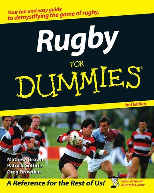 Rugby For Dummies EB9780470677087