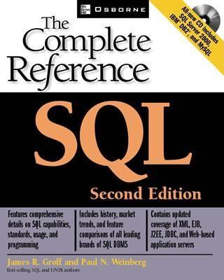 SQL: The Complete Reference, Second Edition