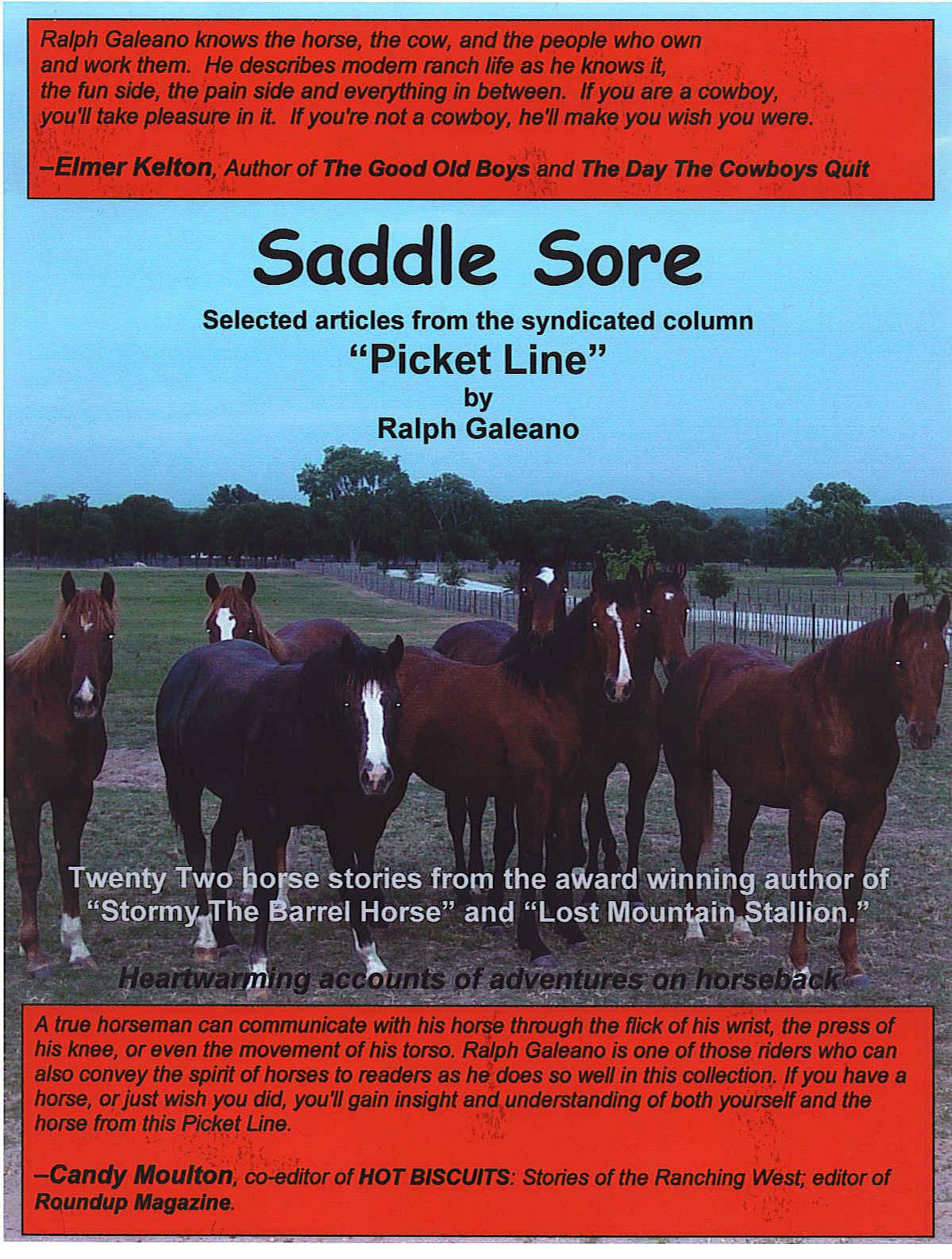 Saddle Sore EB9780981609706