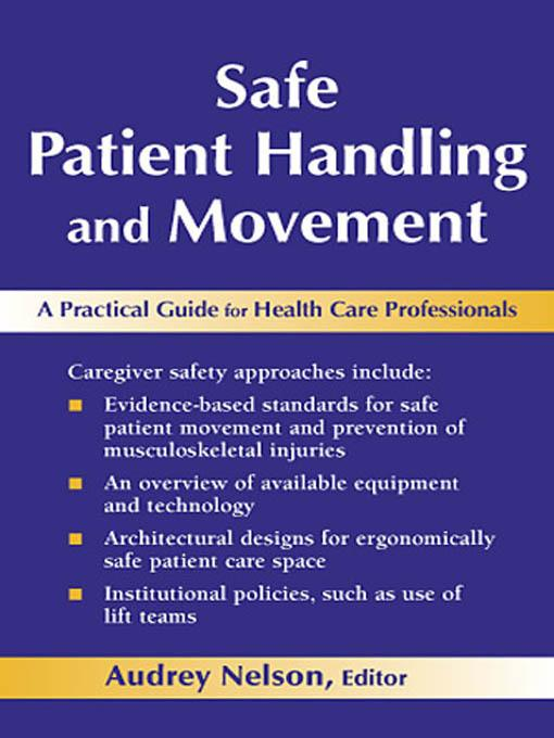 Safe Patient Handling and Movement EB9780826163646