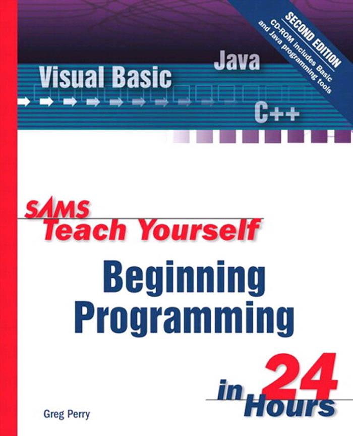 Sams Teach Yourself Beginning Programming in 24 Hours EB9780768658378
