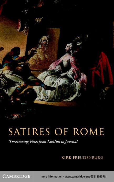 Satires of Rome EB9780511032790