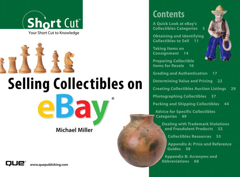 Selling Collectibles on eBay? EB9780768668629