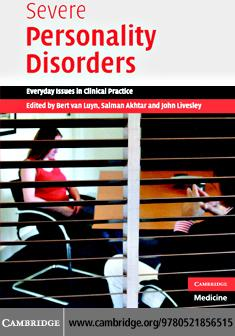 Severe Personality Disorders EB9780511353185