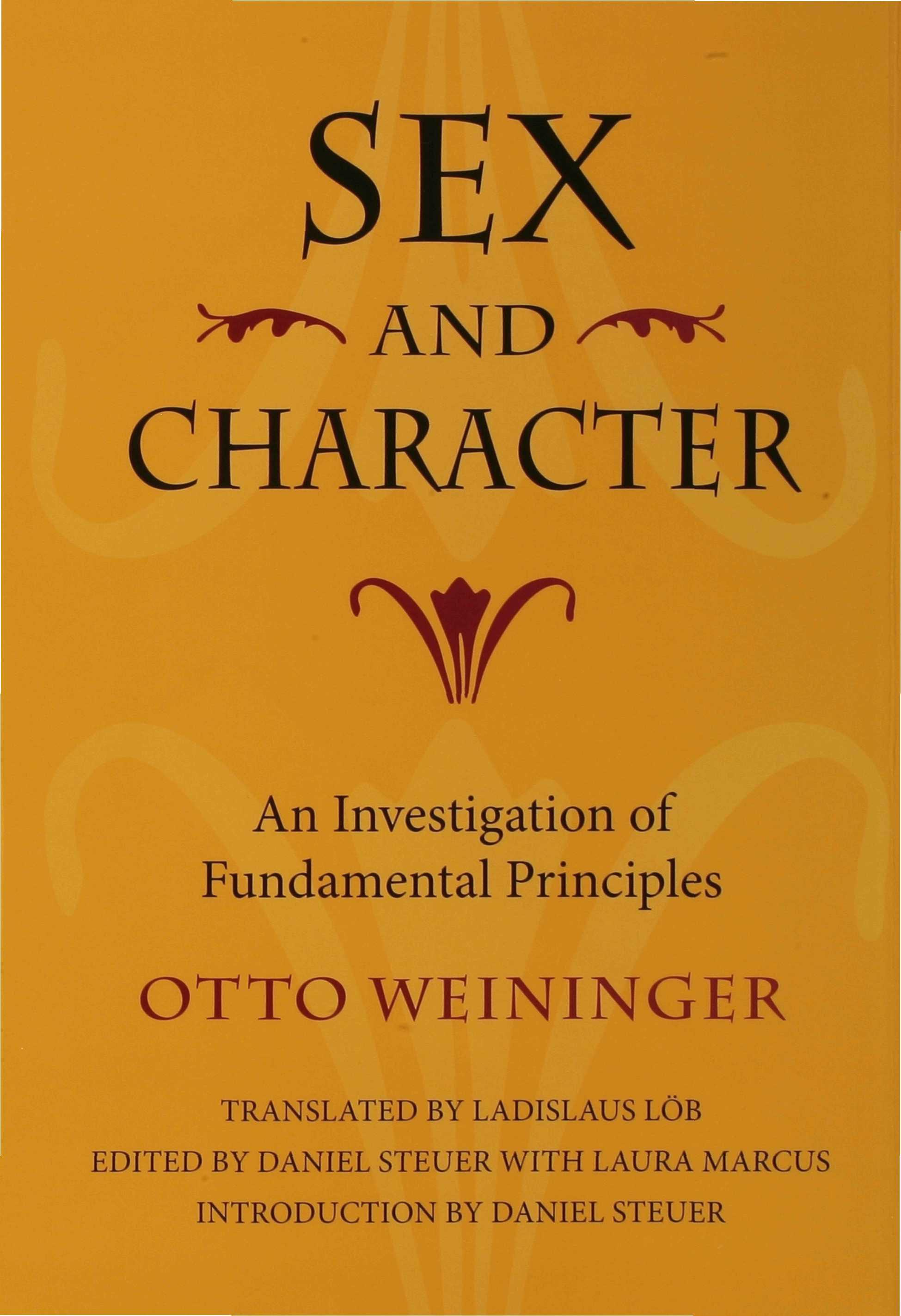 Sex and Character EB9780253111302