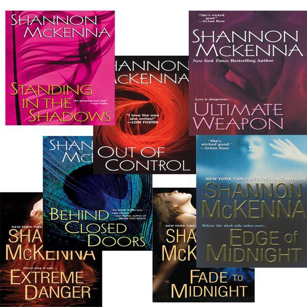Shannon Mckenna's McCloud Brothers Bundle: Fade to Midnight, Behind Closed Doors, Standing in the Shadows, Out of Control, Edge of Midnight, Extreme D EB9780758277152
