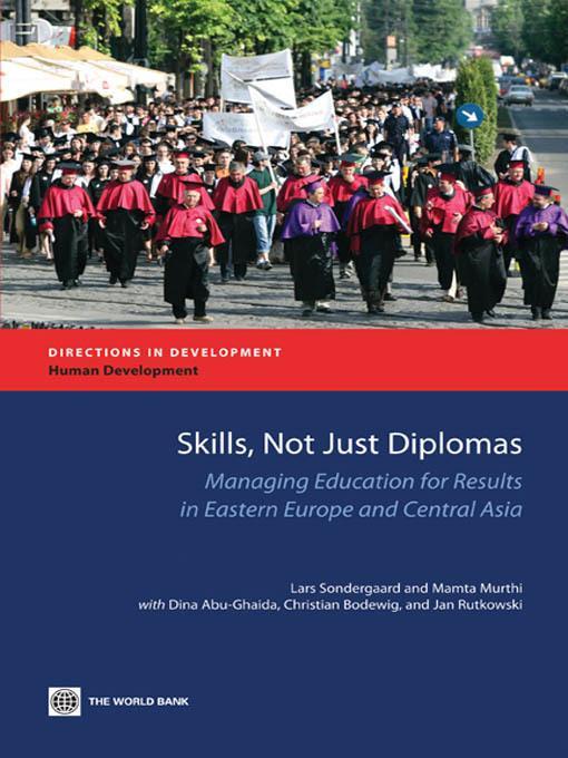 Skills, not just Diplomas EB9780821380970