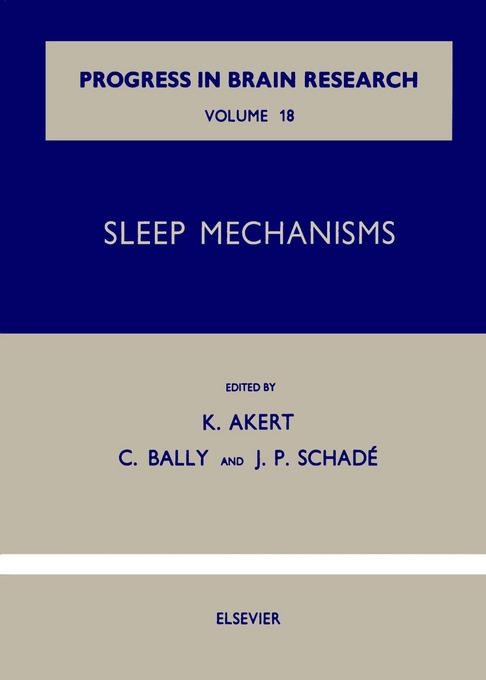 Sleep Mechanisms EB9780080861425