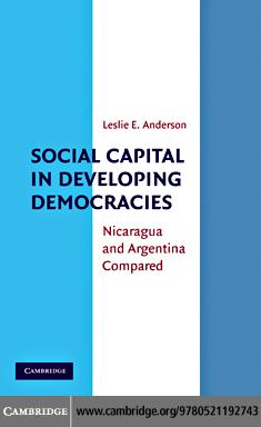 Social Capital in Developing Democracies EB9780511740770