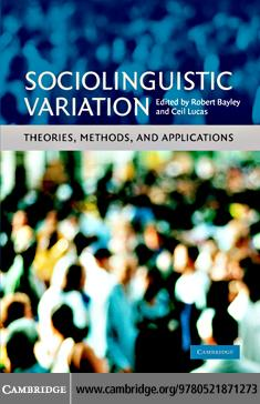 Sociolinguistic Variation EB9780511363979