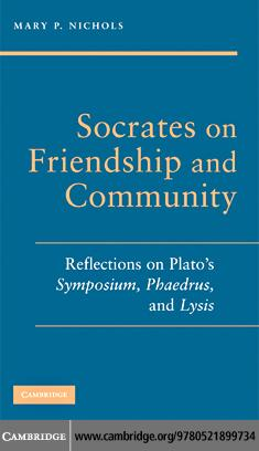 Socrates on Friendship and Community EB9780511474354