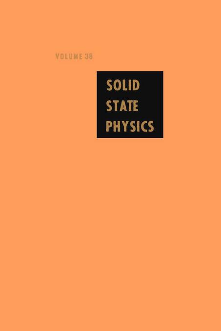 Solid State Physics V38 EB9780080865027