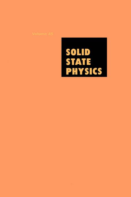 Solid State Physics V45 EB9780080865096