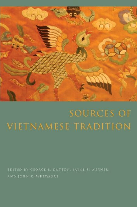 Sources of Vietnamese Tradition EB9780231511100