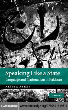 Speaking Like a State EB9780511590375