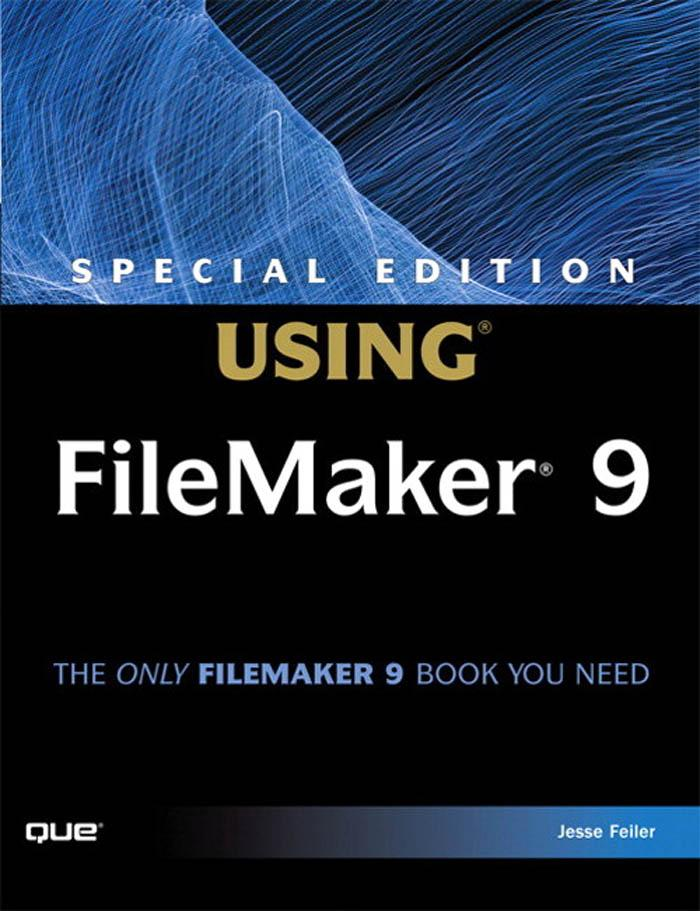Special Edition Using FileMaker 9 EB9780768679380