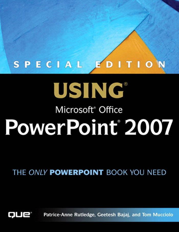 Special Edition Using Microsoft(r) Office PowerPoint 2007 EB9780768667370