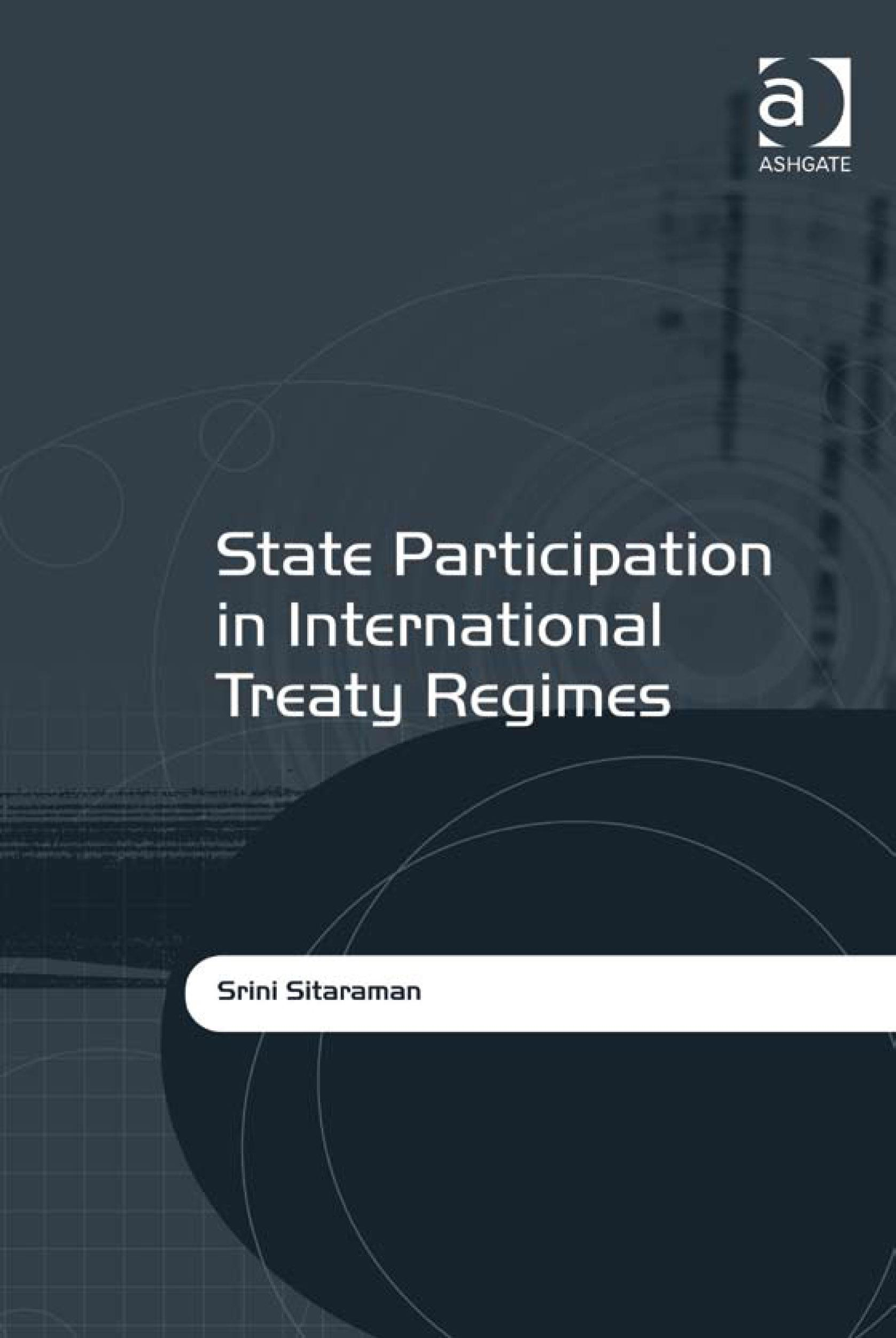 State Participation in International Treaty Regimes EB9780754691730