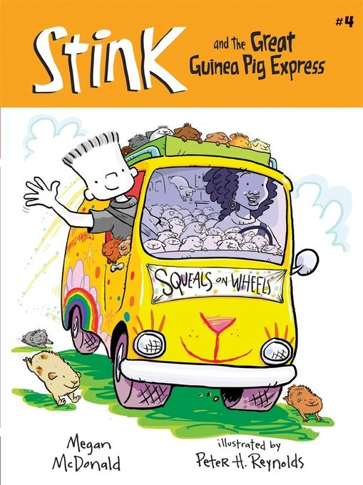 Stink and the Great Guinea Pig Express (Book #4) EB9780763651916