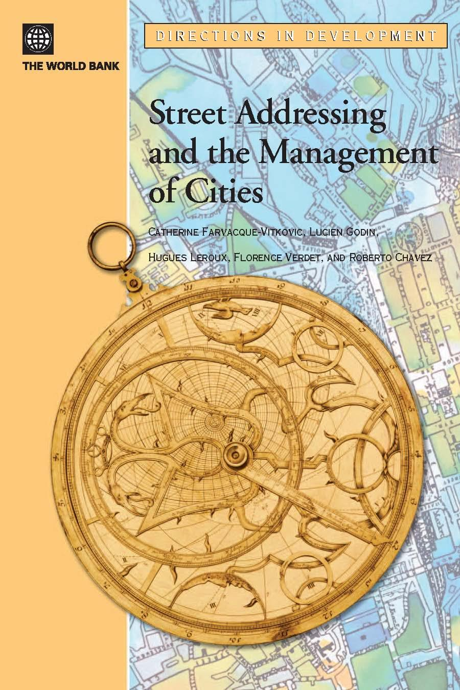 Street Addressing and the Management of Cities EB9780821358160
