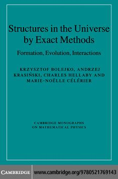 Structures in the Universe by Exact Methods EB9780511654411