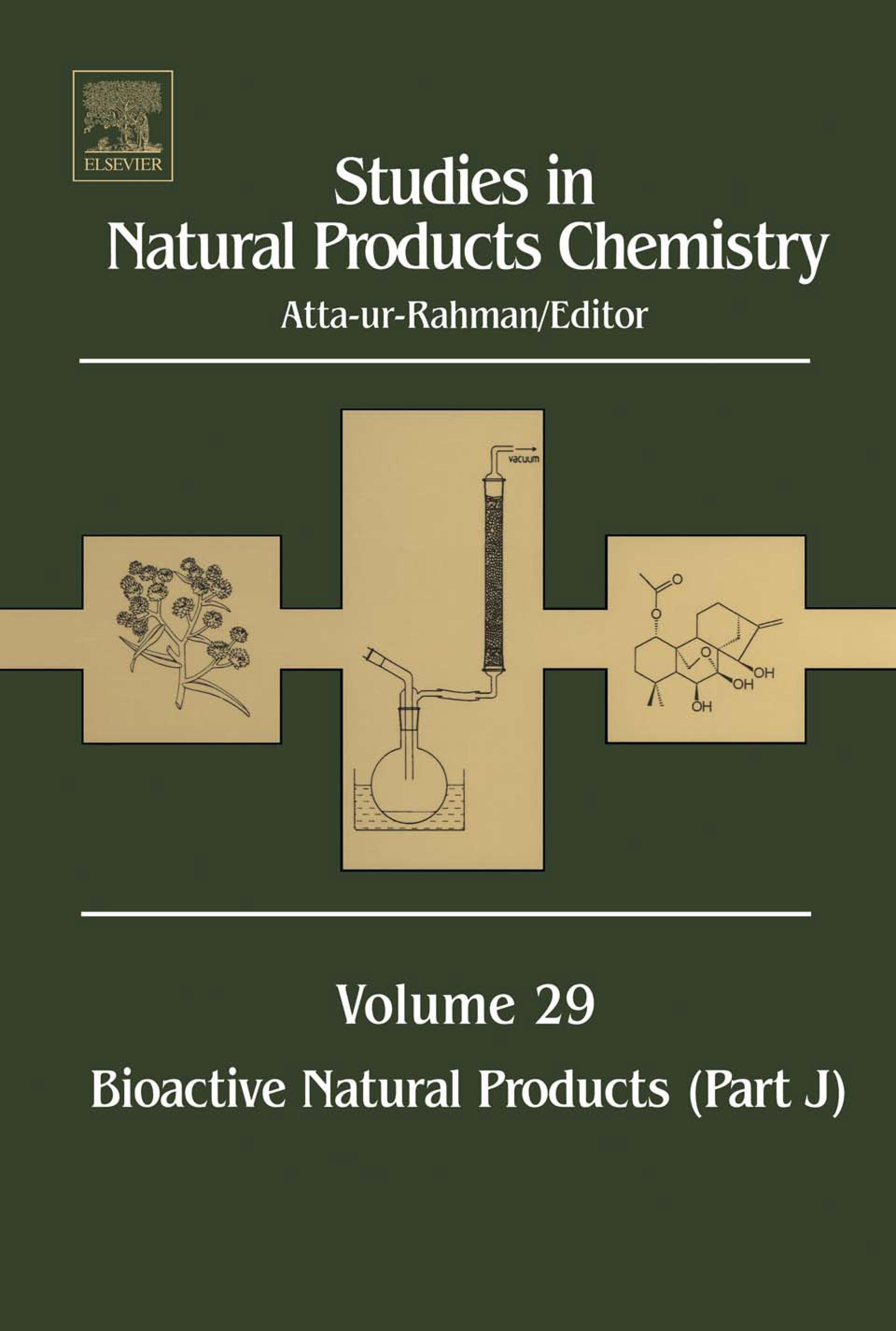 Studies in Natural Products Chemistry: Bioactive Natural Products (Part J) EB9780080542072