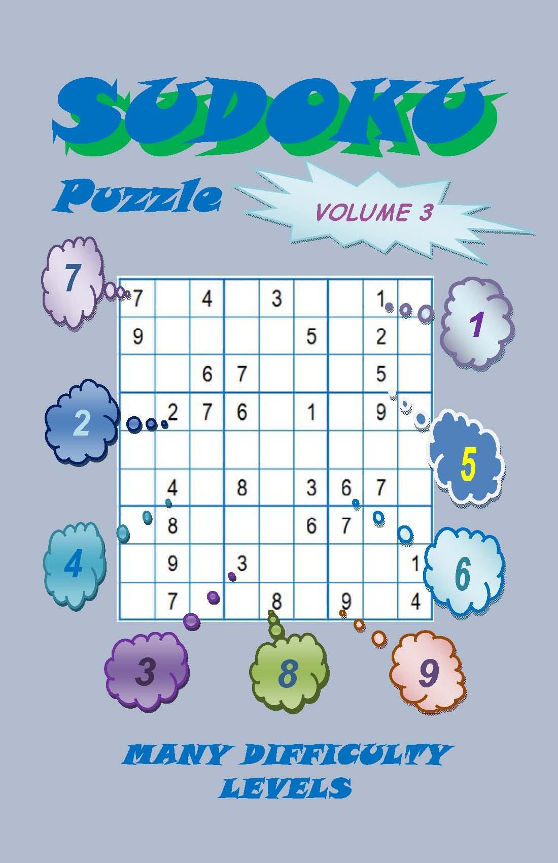 Sudoku Puzzle, Volume 3 EB9780982735855