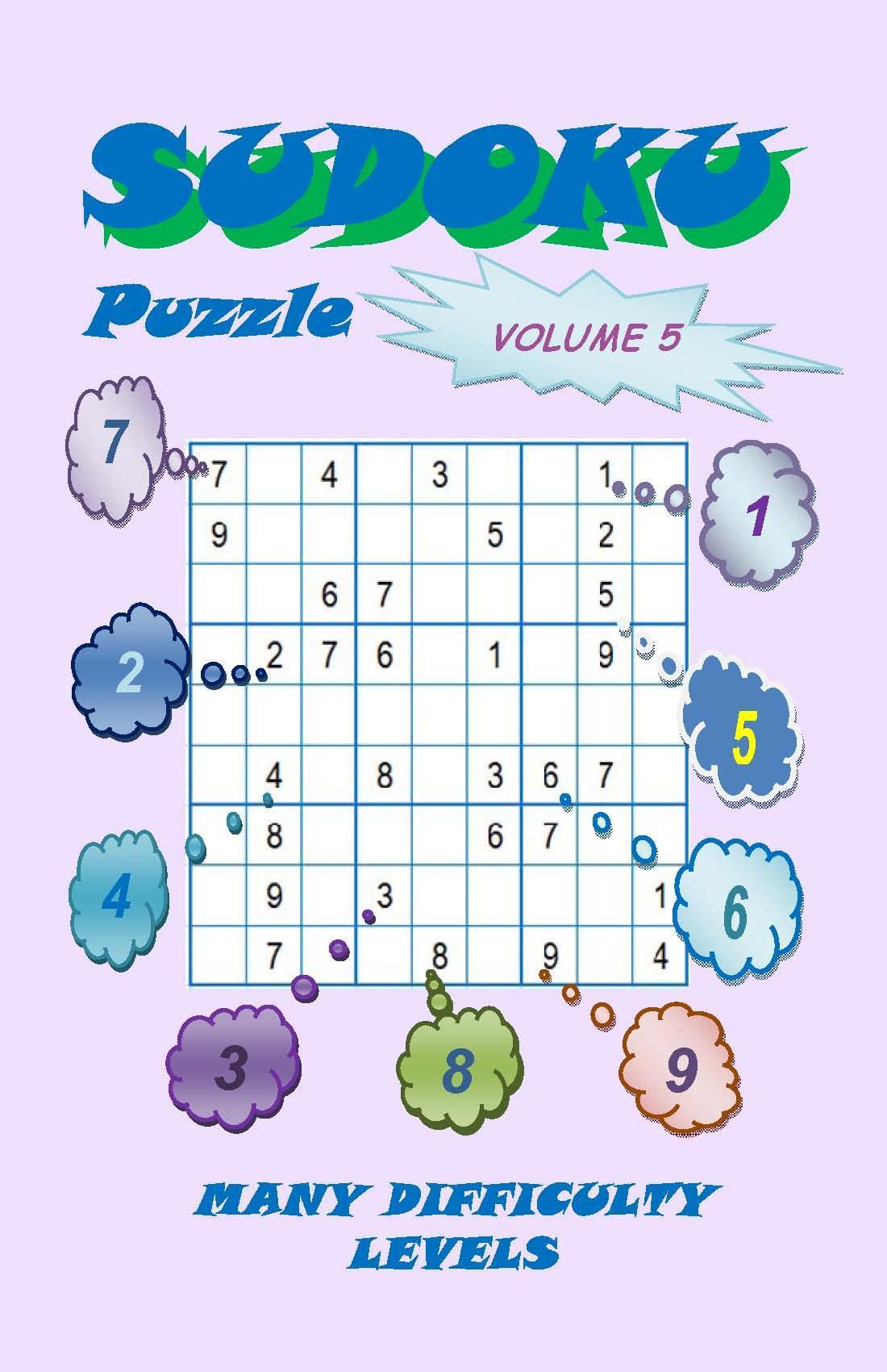 Sudoku Puzzle, Volume 5 EB9780982735893
