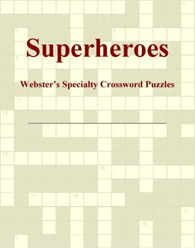 Superheroes - Webster's Specialty Crossword Puzzles EB9780546820195