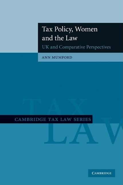 Tax Policy, Women and the Law EB9780511911514